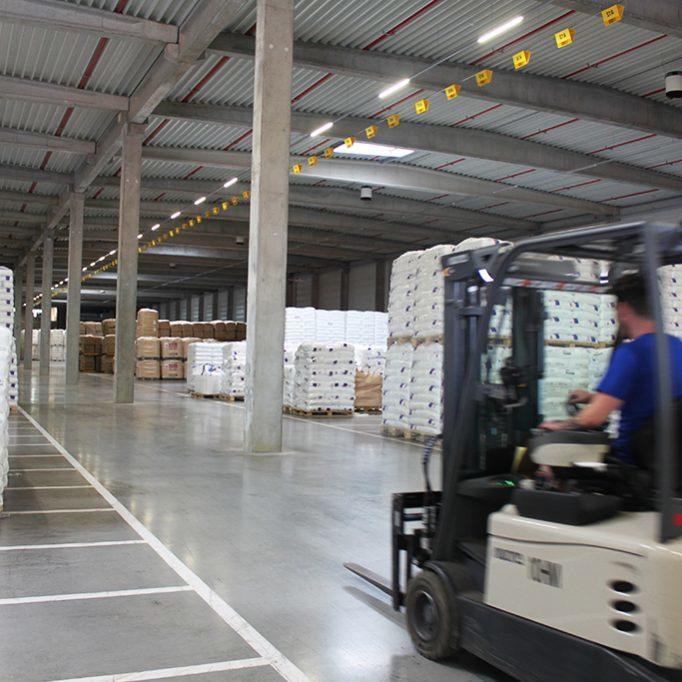 Logistiek warehouse